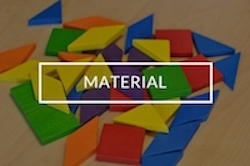 Material para terapia visual